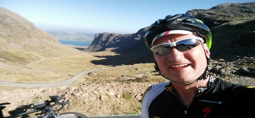 Kevin Jackson Completes the NC500 Bike Ride