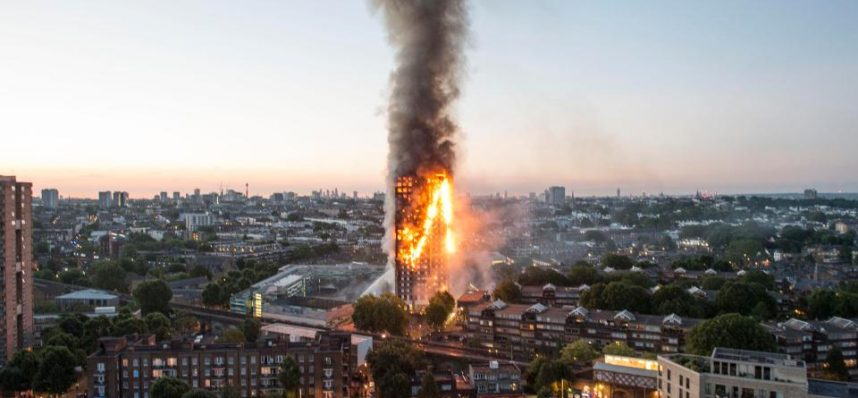 Combustible cladding on high-rise buildings to be banned after the Grenfell Tower fire