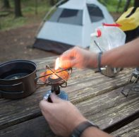 Staying safe during the camping season